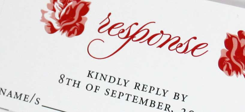 Wedding Invitation Rsvp Date: Setting An RSVP Date For Your Wedding Invitations