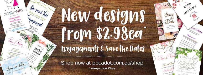 Save the Date Cards and Engagement Invites from only $2.98