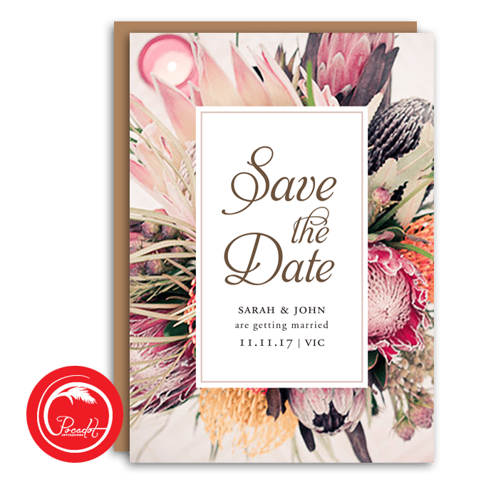 Save the date invites in Sydney