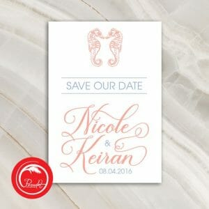 Online save the date announcements in Sydney